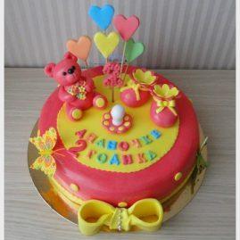 Детский торт №104
