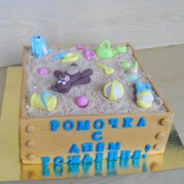 Детский торт №107