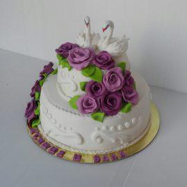 Свадебный торт №121