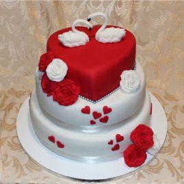Свадебный торт №122