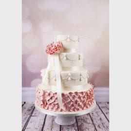 Свадебный торт №124