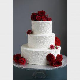 Свадебный торт №125