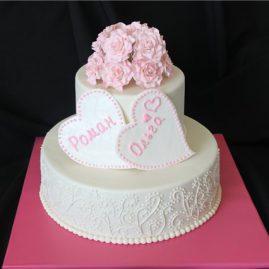 Свадебный торт №127