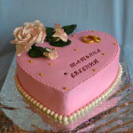 Свадебный торт №130