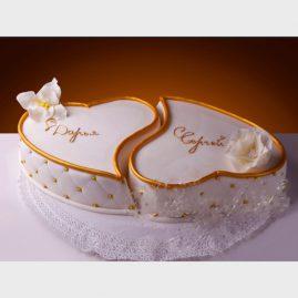 Свадебный торт №131