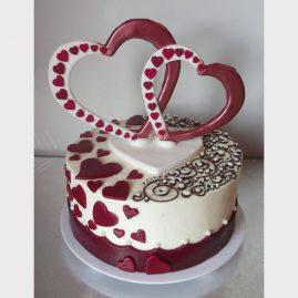 Свадебный торт №139