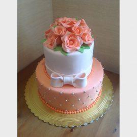 Свадебный торт №144