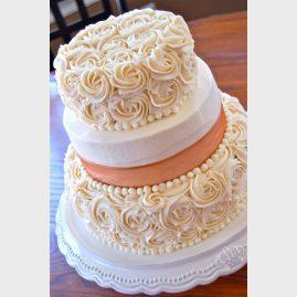 Свадебный торт №145