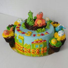 Детский торт №14