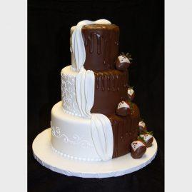 Свадебный торт №153