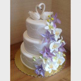 Свадебный торт №157