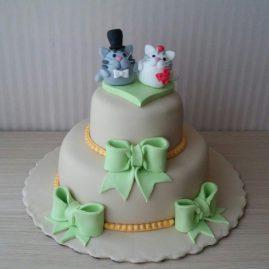 Свадебный торт №158