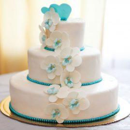 Свадебный торт №161