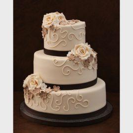 Свадебный торт №162