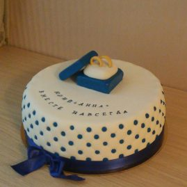 Свадебный торт №164