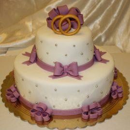 Свадебный торт №175