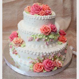 Свадебный торт №176