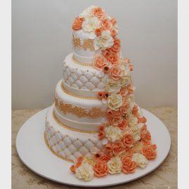 Свадебный торт №177