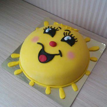 Детский торт №17