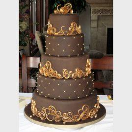 Свадебный торт №181
