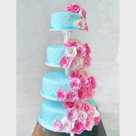 Свадебный торт №182