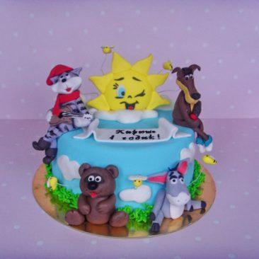 Детский торт №25