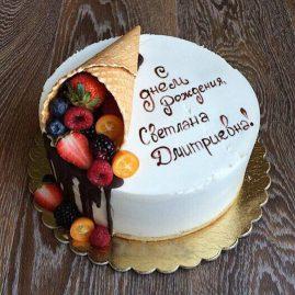 Торт для женщины №315