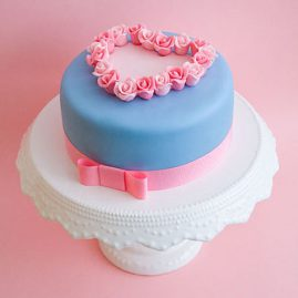 Торт для женщины №338