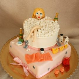 Торт для женщины №340