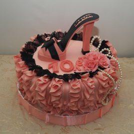 Торт для женщины №343