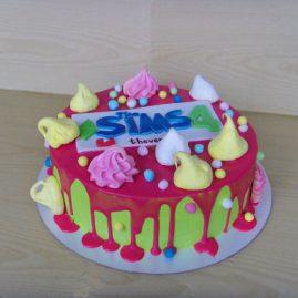 Торт для женщины №351