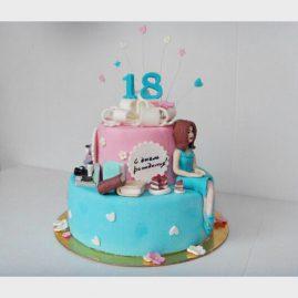 Торт для женщины №359