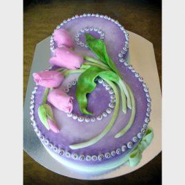 Торт для женщины №370