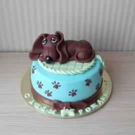 Торт на день рождения №412