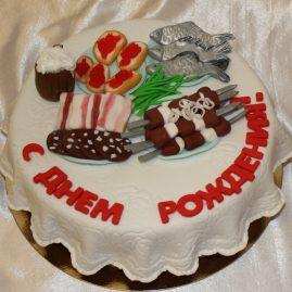 Торт на день рождения №413
