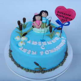Торт на день рождения №414
