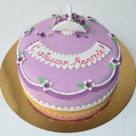 Торт на день рождения №419