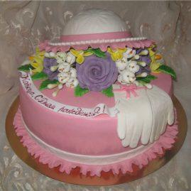 Торт на день рождения №420
