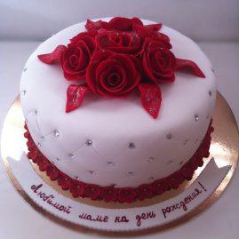 Торт на день рождения №421