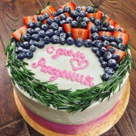 Торт на день рождения №424