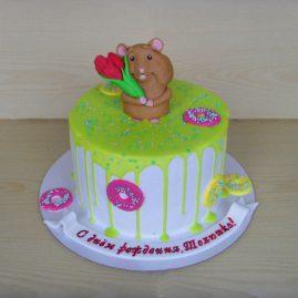 Торт на день рождения №427