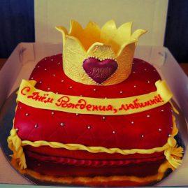Торт на день рождения №429