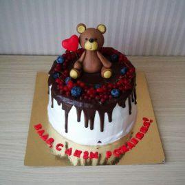 Торт на день рождения №433
