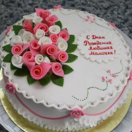 Торт на юбилей №495
