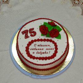 Торт на юбилей №506