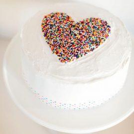 Торт на 14 февраля №527