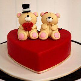 Торт на 14 февраля №528
