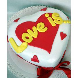 Торт на 14 февраля №529