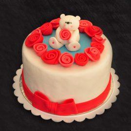Торт на 14 февраля №531