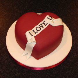 Торт на 14 февраля №534